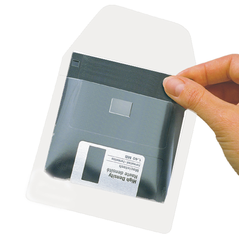 3L Self-Adhesive Diskette Pockets