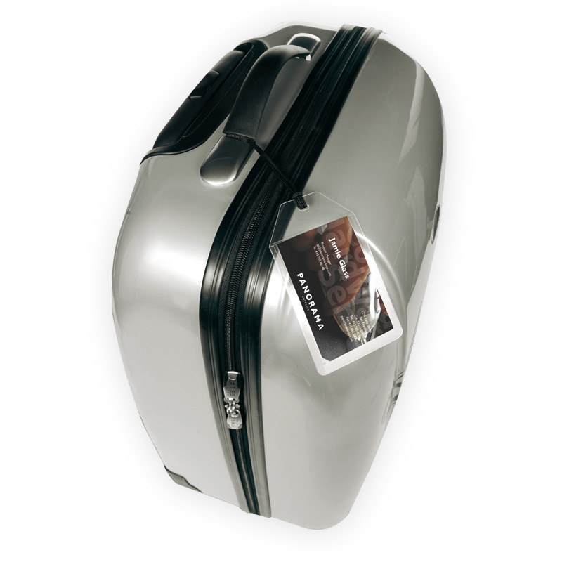 3L Self-Laminating Luggage Tags - Includes String For Attaching