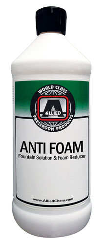 Allied Anti Foam Fountain Solution and Foam Reducer