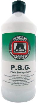 Allied P.S.G. Metal Plate Storage Gum