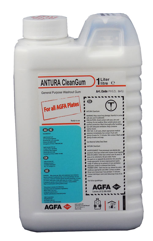Agfa ANTURA CleanGum Plate Care