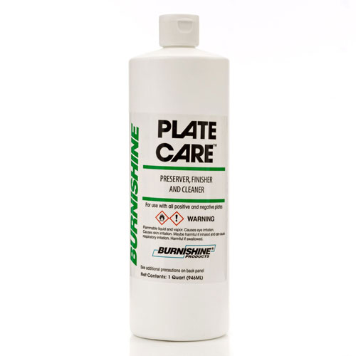 Burnishine Plate Care - Preserver, Finisher and Cleaner