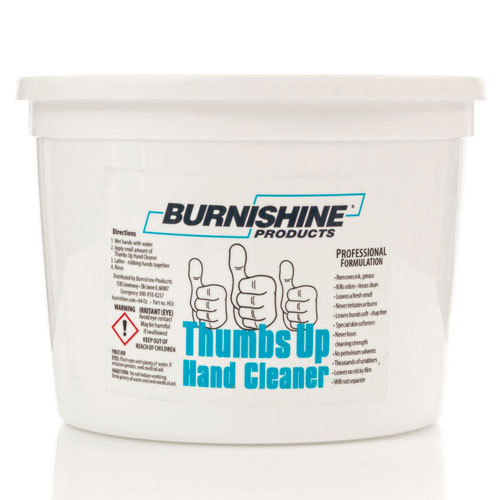 Burnishine Thumbs Up Hand Cleaner - 64 oz.