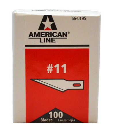 American Line #11 Hobby Blades
