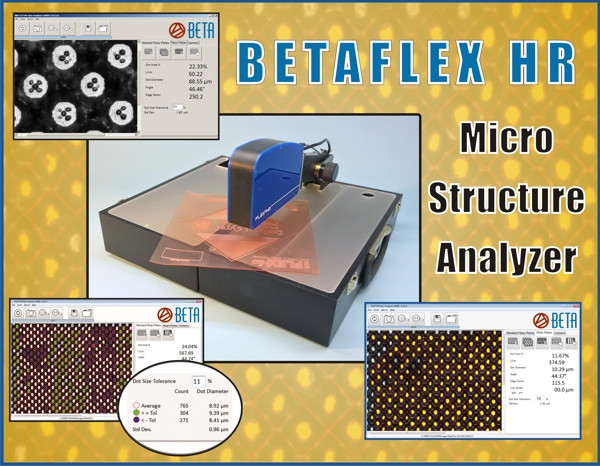 BetaFlex HR (High Resolution) Flexo Analyzer For Micro-Structure Analysis