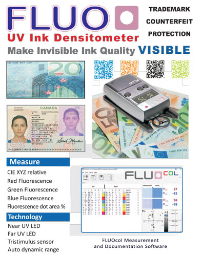 Beta FLUO - Invisible UV Ink Densitometer