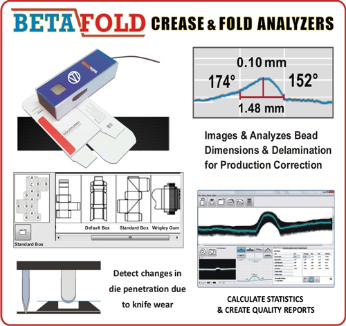 Carton Crease and Fold Analyzer