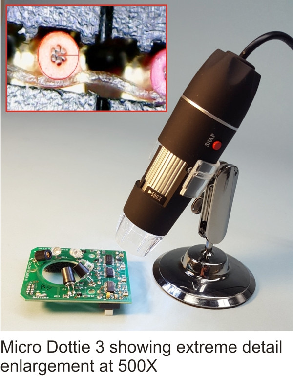 Micro Dottie 3 - CMYK Video Microscope