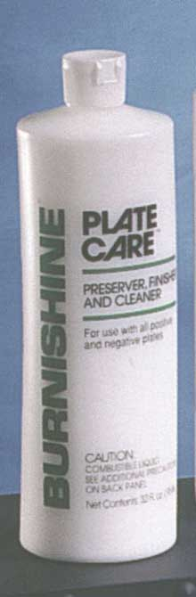 Burnishine Plate Care