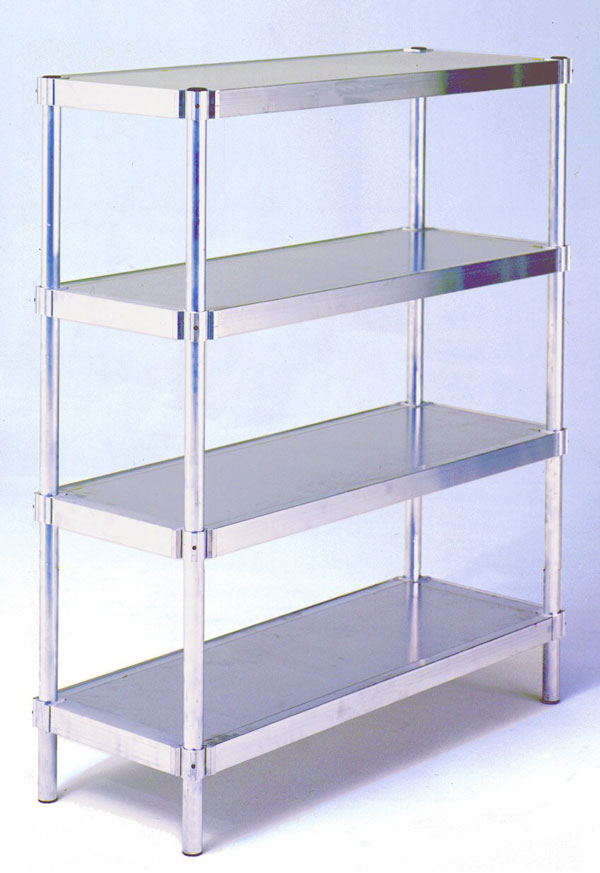 "Shelving Unit w/Four Shelves - 20"" W x 60"" H x 36"" L"