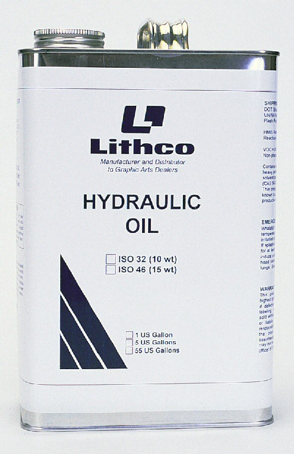 Lithco Hydraulic Vacuum Pump Oil 32