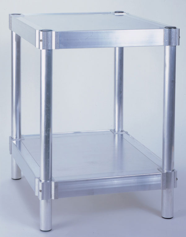 "Equipment Stand with Casters - 24"" W x 30"" H x 36"" L"