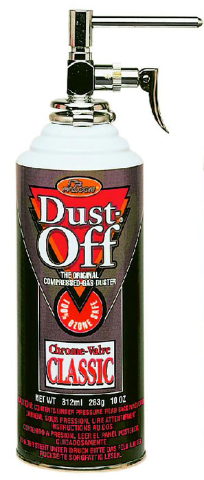 Dust-Off 100% Ozone Safe Refill