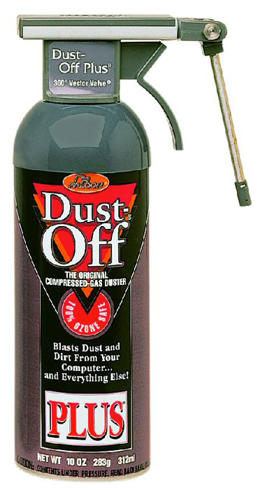 Dust-Off Plus with Vector Valve