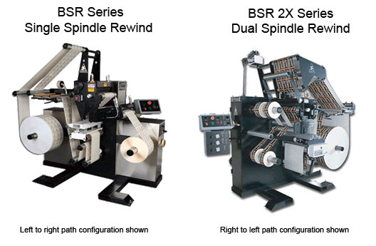 BSR & ISR Series High-Speed Slitter Rewind Inspectors