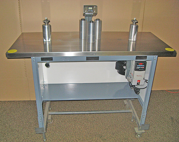 "Teco Model 100, 6"" Rewind Inspection Table"