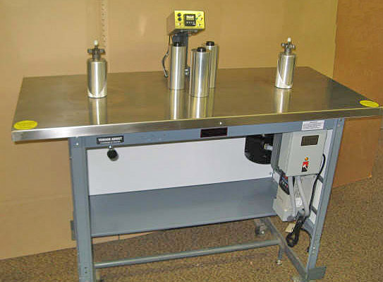 "Teco Model 200, 7"" Rewind Inspection Table"