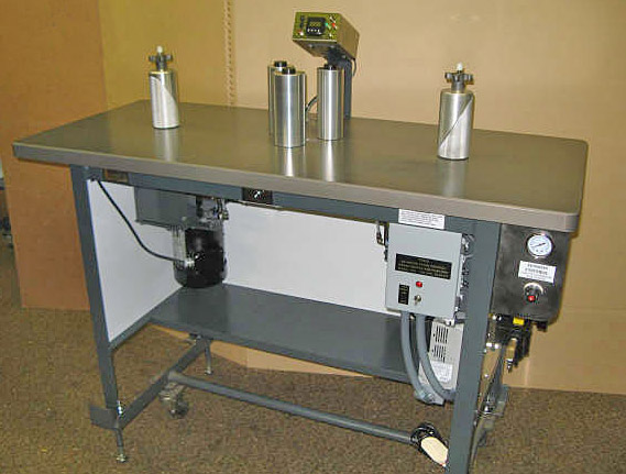 "Teco Model 200, 7"" Bi-Directional Rewind Inspection Table"