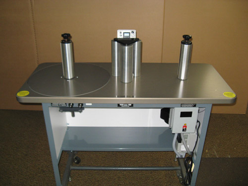 "Teco Model 400, 10"" Rewind Inspection Table"