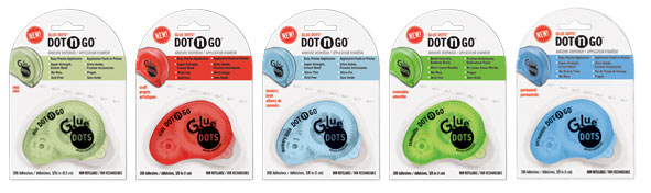 Dot 'N Go Adhesives and Dispenser