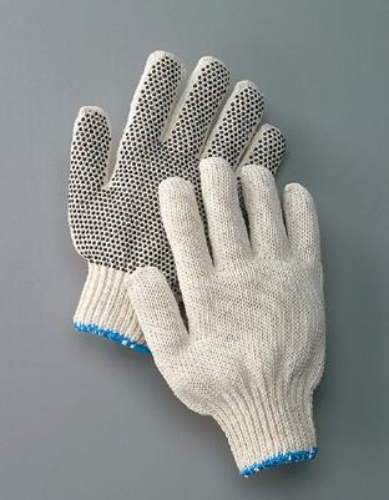 Lithco One-Sided PVC Dot String Gloves