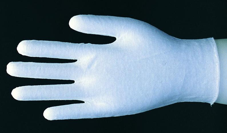 Lithco White Cotton Inspector Gloves