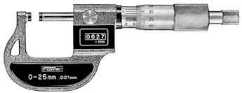#52-223-005 Fowler Metric Digital Micrometer
