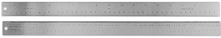 650DTP - Stainless Steel Desk Top Publishing Ruler