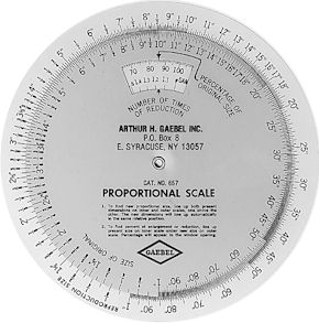 Gaebel Proportion Scales