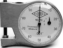 #701 Ames Pocket Thickness Gauge