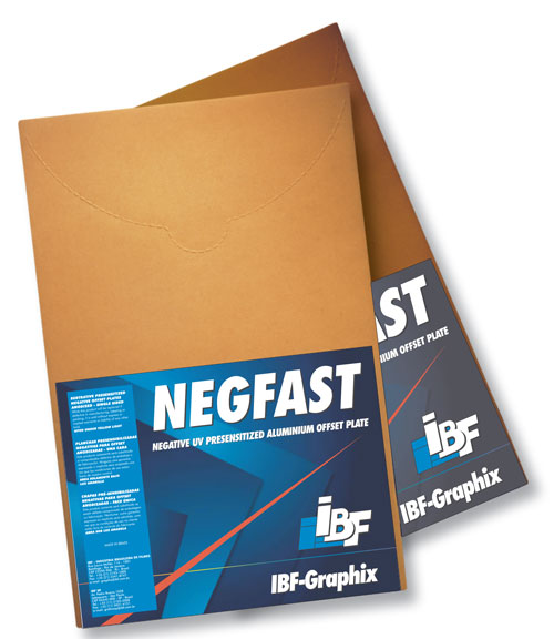IBF NEGFAST Negative UV Presensitized Aluminum Offset Plates