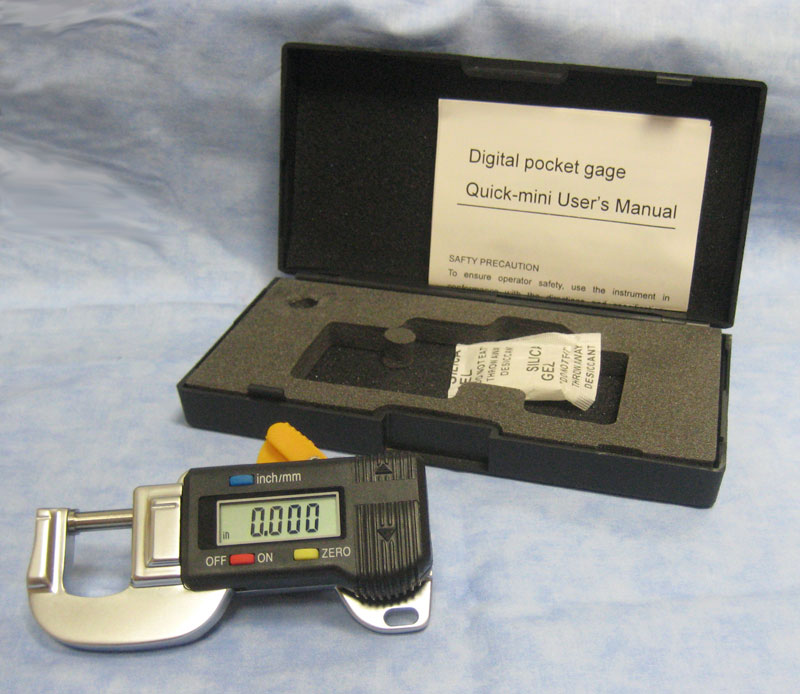 Quick Mini Type Digital Micrometer