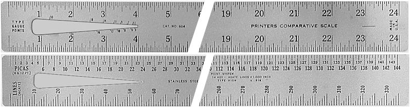 604 Series Stainless Steel Rulers
