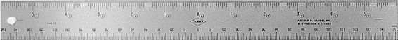440 Series Corkback Ruler
