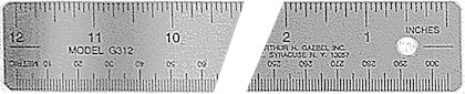 300 Series Corkback Ruler