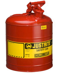 Justrite Metal Safety Cans Type I Improved