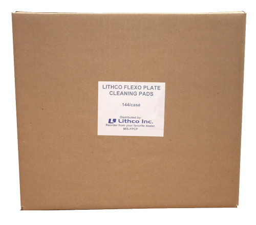 Lithco Flexo Plate Cleaning Pads