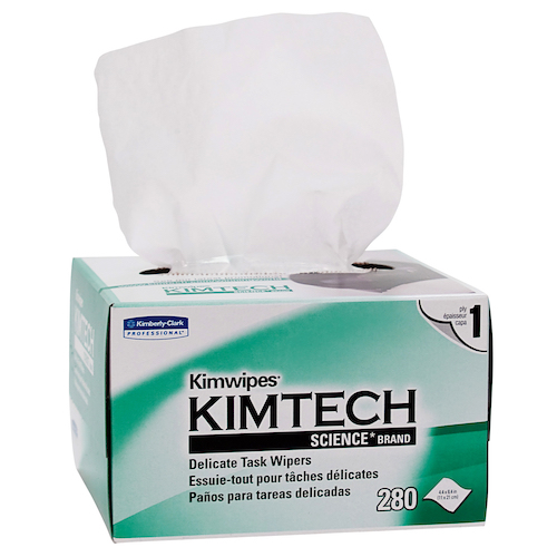 "Kimtech Science Kimwipes Delicate Task Wipers - 4.4"" x 8.4"""