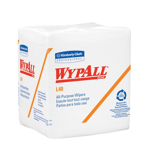 "Wypall L40 Wipers - 12.5"" x 14.4"""