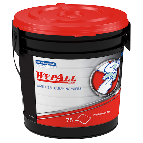 Wypall #91371 Waterless Hand Wipes (75 Wipes/Container)