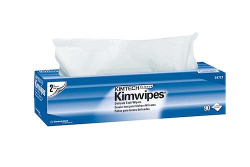"Kimtech Science Kimwipes Delicate Task Wipers - 14.7"" x 16.6"""