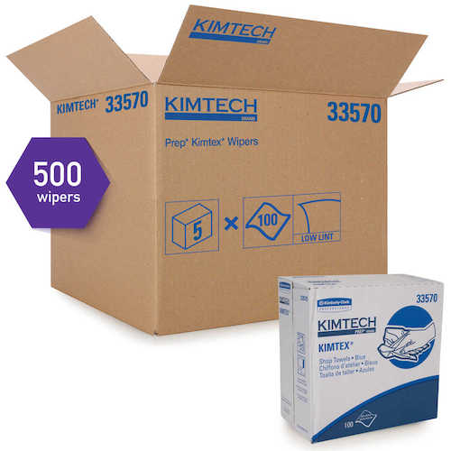 "Kimtex #33570 Shop Towels 9-3/4"" x 16-3/4"""