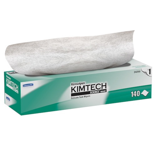 "Kimwipes #34256 Ex-L Wipers 15"" x 17"""