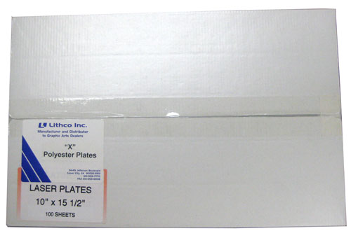 "Lithco Polyester Laser ""X"" Plates"