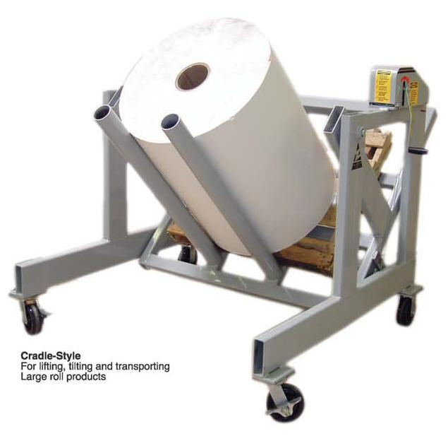 Pal-A-Tilt Series Mobile 90° Pallet & Large Roll Tilter