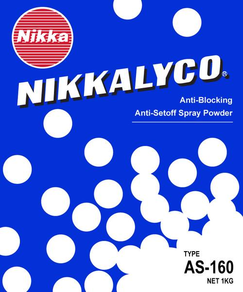 Nikkalyco Spray Powder - General Printing Half-Coated Type