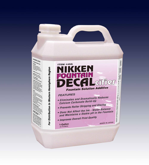 Nikken DECALcifier Fountain Solution Additive