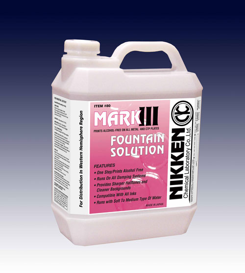 Nikken Mark III Fountain Solution