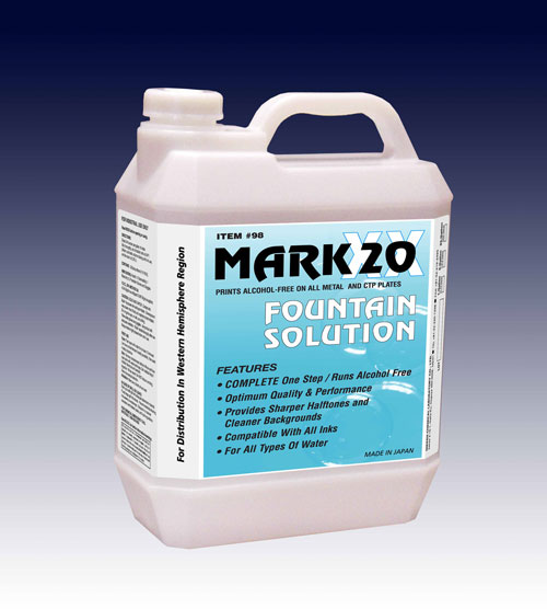 Nikken Mark XX Fountain Solution