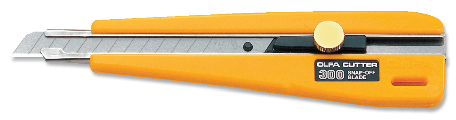 OLFA Wheel Lock Utility Knife (300)